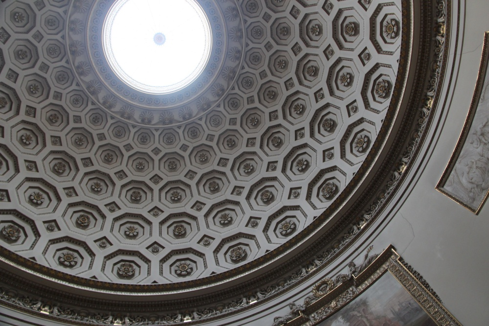 The circular Saloon with its 62 feet high oculus