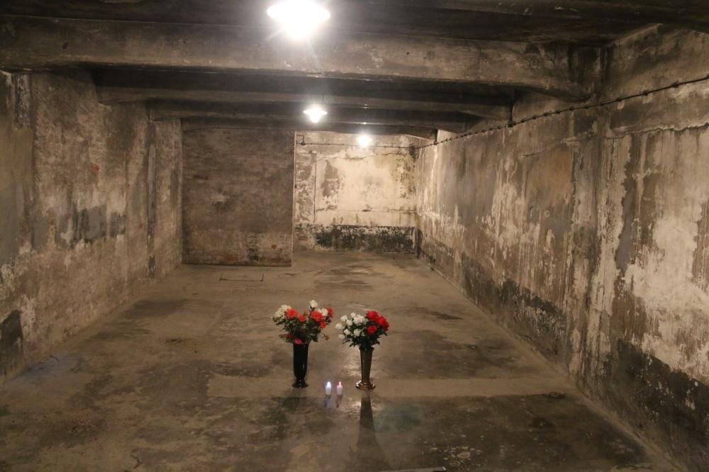 Auschwitz gas chamber
