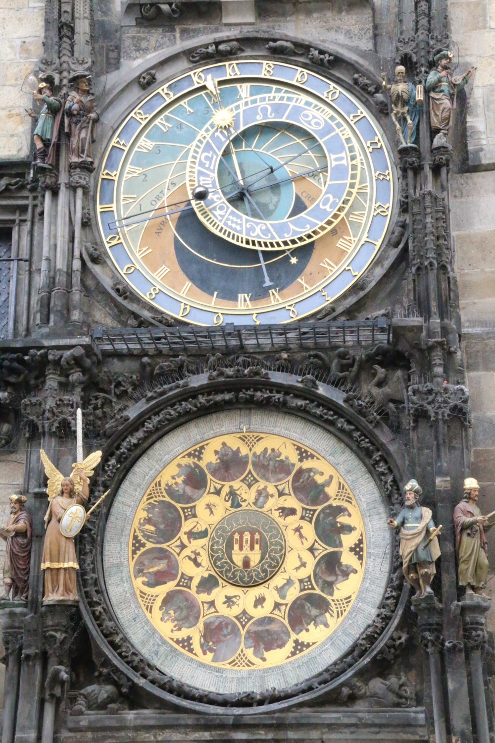 Anatomical clock...not very animate