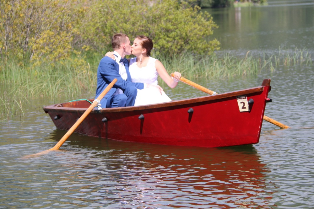 Marriage on calm waters