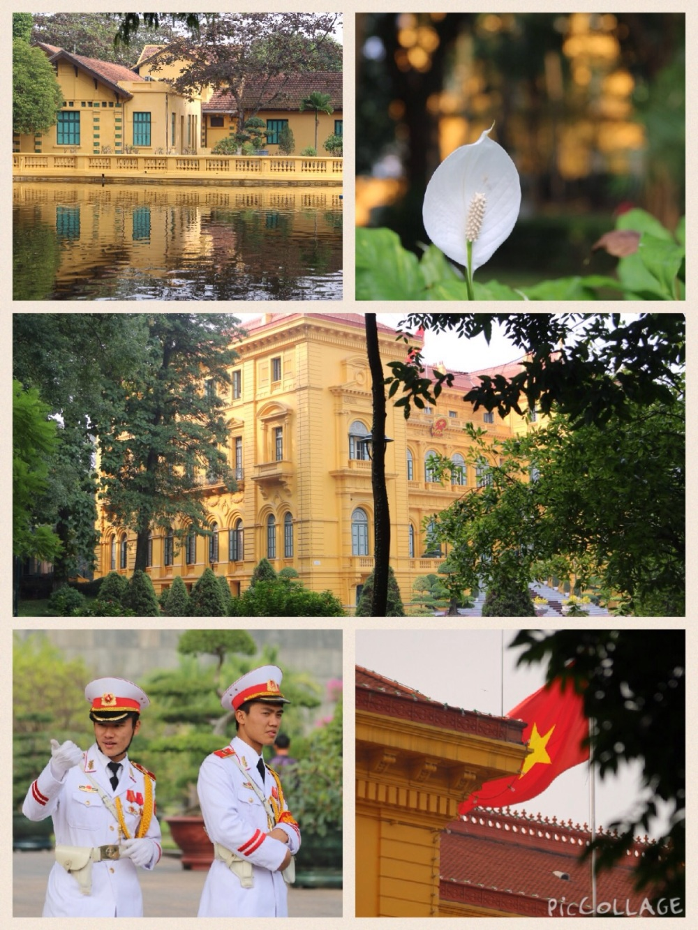 Botanical Gardens and Presidential Palace
