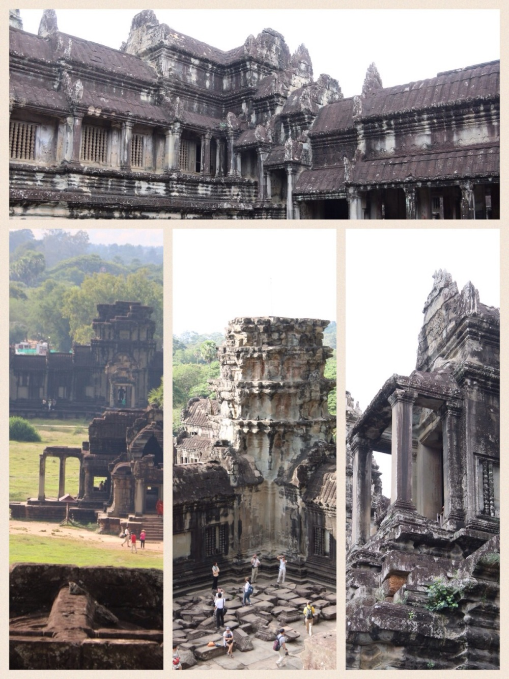 Interior of Angkor Wat