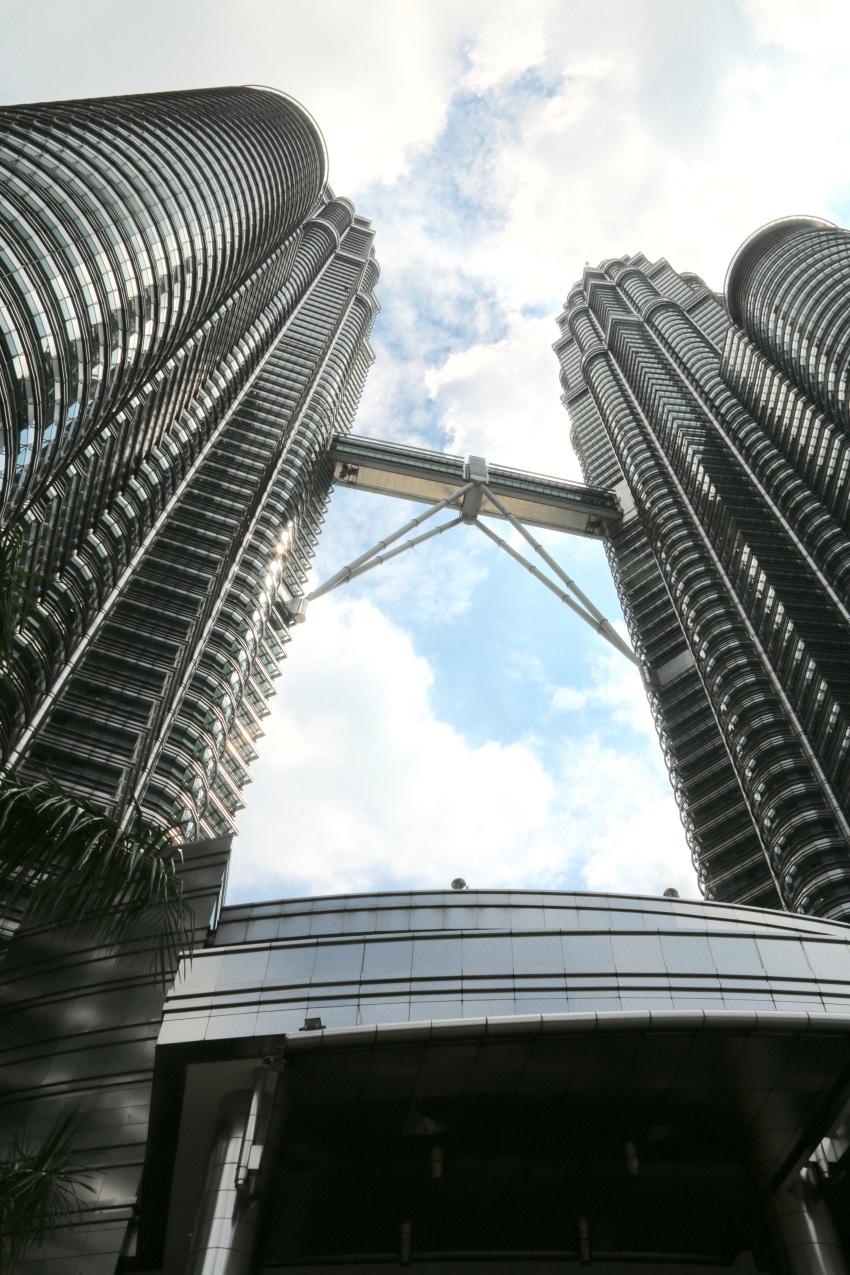 The iconic Petronas Twin Towers