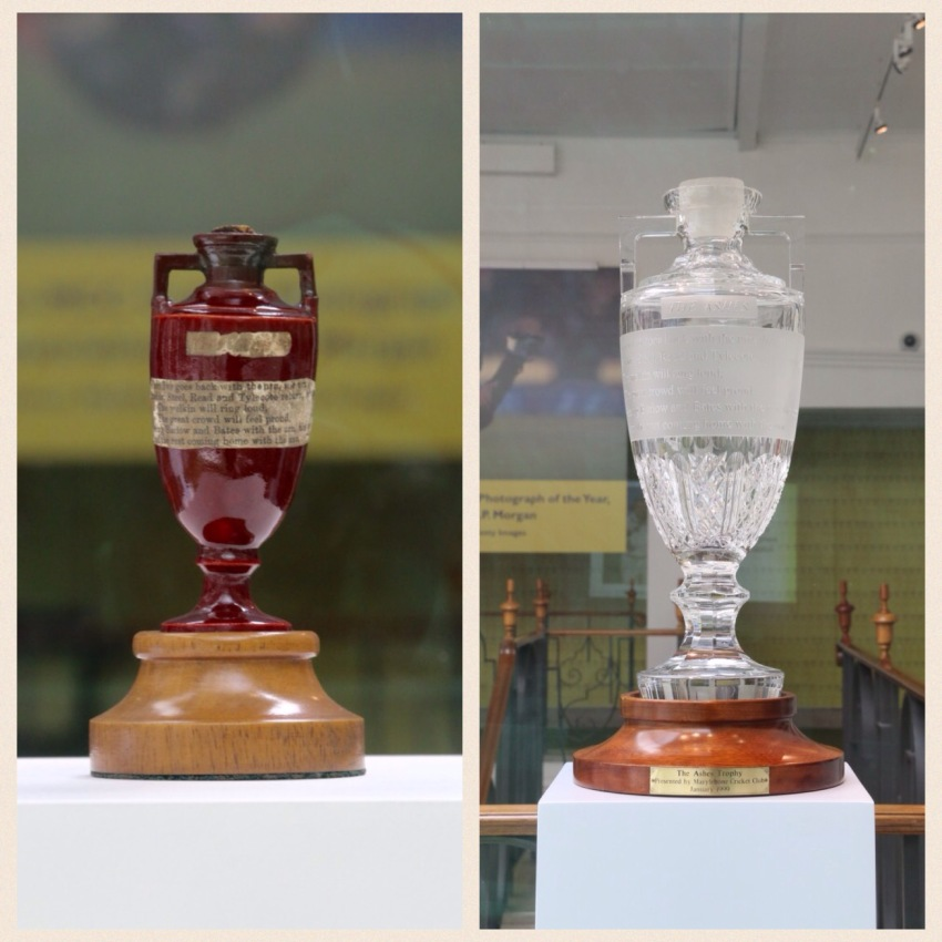 The urn and it's travelling substitute